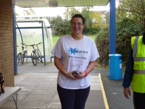 Helen Minshull, winner of the U60 age category